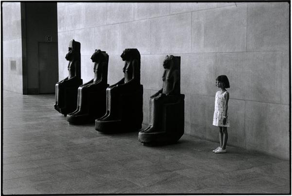 USA. 1988. New York City. The Metropolitan Museum of Art.
